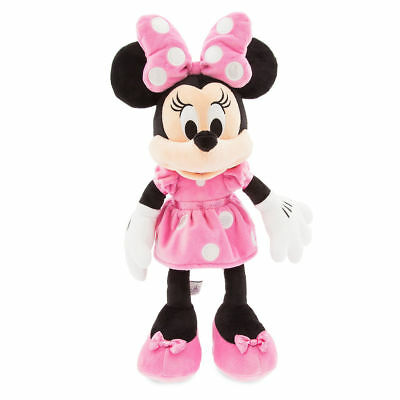 Disney Minnie Mouse Plush Pink Medium - 18 Inch - New!! - Fast Free Shipping!