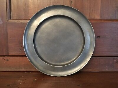 Old World Pewter Plate