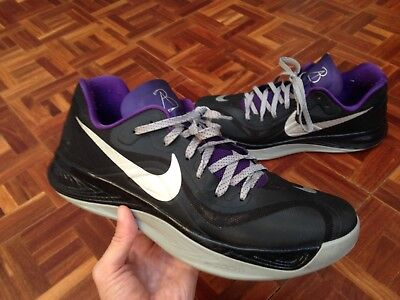 45f7eb2d4aa1 Nike Hyperfuse Low PE NBA PLAYER ISSUED AARON BROOKS  3 Sac Kings Shoes  Sample