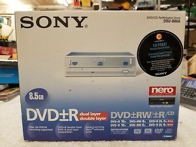 SONY DVD RW DRU 800A DRIVER WINDOWS