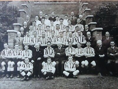 Newcastle United Football Club 1947-48 Team Squad Photograph