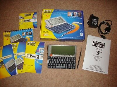 NEW PSION 5MX PDA  boxed all accessories