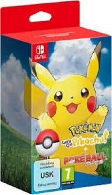 Pokemon Let´s Go Pikachu + Pokeball plusNEUOVP Switch