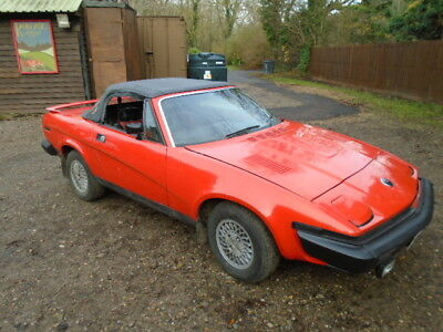 1980 Triumph TR7 Convertible - For Restoration - Runs well - Good project
