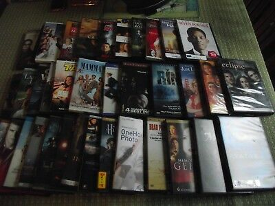Lot of 39 Used ASSORTED DVD Movies - Mamma Mia~Avatar~Eclipse~Goblet of Fire