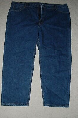 Levi Strauss & Co 550 52w x 32L Relaxed Fit Jeans Blue Wash pre-owned NEVER USED