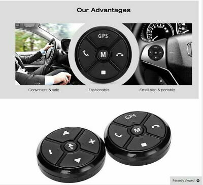 Universal Radio Remote Control DVD GPS Steering Wheel Control Wireless Bluetooth