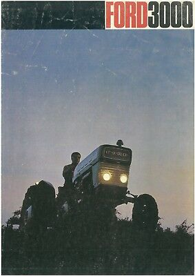 Ford 3000 Tractor Brochure