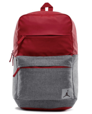 Nike Air Jordan Jumpman Pivot Laptop Backpack Red Gray 9B0013-R78 New With  Tags f3233d0764