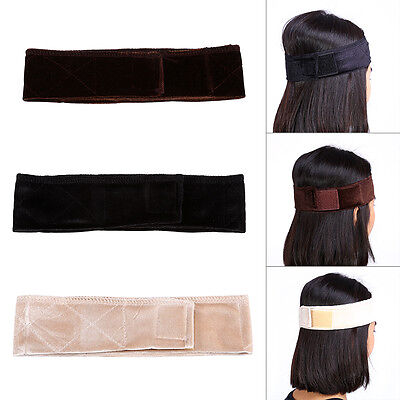 Flexible Velvet Wig Grip Headband Scarf Hair Head Band Wiggery Hairband Hot