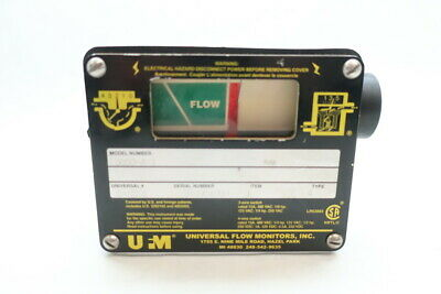 Universal Flow Monitors 3850-A-1 Flow Indicator 480v-ac 15a 1/4in Npt
