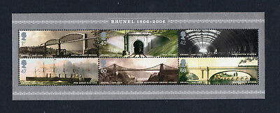 GB 2006 Birth Bicentenary of Brunel. Mint MNH. One postage for multiple buys.