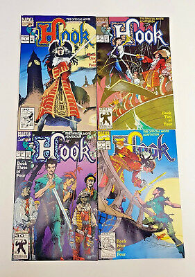 HOOK Issues One To Four Marvel Comics 1992