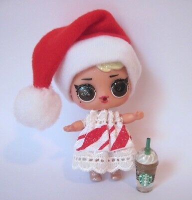 LOL Surprise Doll Accessories Clothes Outfit Custom Santa Hat DOLL NOT INCLUDED