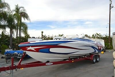 2005 Eliminator 300 Eagle XP Twin Mercury Racing 525's, XR Drives Super Clean