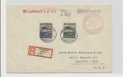 Germany - Good Zeppelin Cover Lot # 17