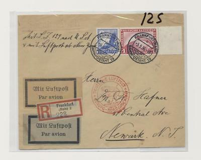 Germany - Good Zeppelin Cover Lot # 19