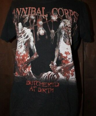 Bandshirt, Cannibal Corpse, Butchered At Birth, S, Death Metal, Chris Barnes