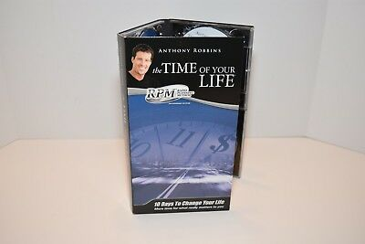 Tony Robbins Time of Your Life RPM Management System  Program CD'S