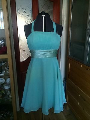 Stunning Brand New With Tags, Pale Green Short Cocktail/ Prom/bridesmaid Dress