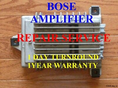 GMC ACADIA CHEVY TRAVERSE BUICK ENCLAVE 2007-2013 amplifier REPAIR SERVICE BOSE