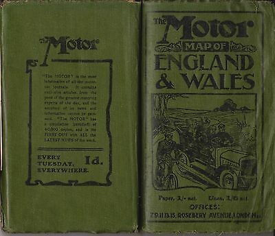 Vintage 1906 Road Atlas & Town Plans Maps, DVD