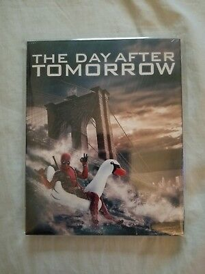 The day after tomorrow Blu-Ray deadpool photo bomb