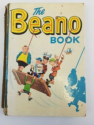 The Beano Book 1963 DC Thomson Comic Annual Rare 60s Bash Street Kids UK