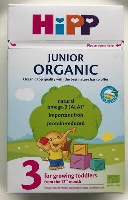 HiPP 3 For growing toddlers from 12th month 500g