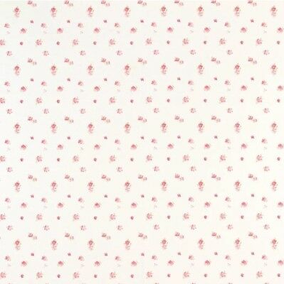 Laura Ashley Wallpaper Roll - Abbeville - Pink - Vintage Floral Print