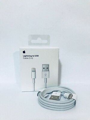 Apple iphone Wall Charger Cube Lightning USB Cable 5/6/s/7 x Genuine Original