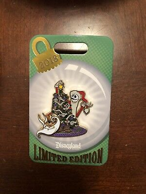 Disney Disneyland Nightmare NBC Jack Zero Christmas Tree Trimming 2018 LE Pin