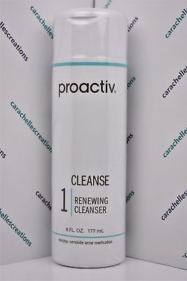 Proactiv Newest RENEWING CLEANSER Large 6oz Size Sealed NO DATE STAMP ON BOTTLE
