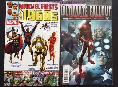 ULTIMATE FALLOUT #4 1st Ptg MILES MORALES & MARVEL 1960s TPB STAN LEE SPIDER-MAN