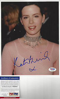 Actress Kate Beckinsale autographed 8x10 color close up photo PSA DNA  Certified
