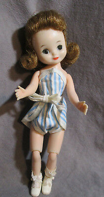 "Vintage American Character 8"" Betsy McCall Doll - Dark Blonde"