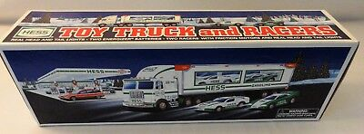 1997 HESS Toy Truck & Racers