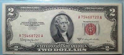 1953- $2 Dollar Bill  >>>United States Note<<<        Free Shipping