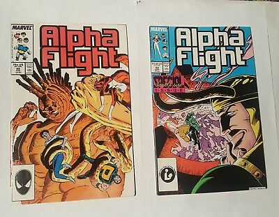 alpha flight # 49,50. 1987