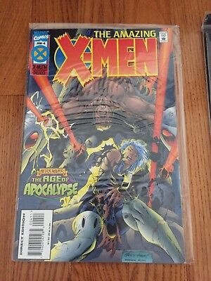 X-Men, The Amazing X-Men #4,  Age Of Apocalypse  Marvel 1995