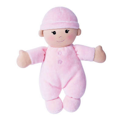 My First Baby Organic DOLL Pink - 100% Organic Cotton, incl filling - Apple Park