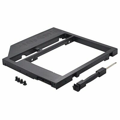 "HDD Caddy 2nd SATA3 To SATA3 2.5"" HDD SSD 9.0mm Enclosure For Laptop CD ROM"