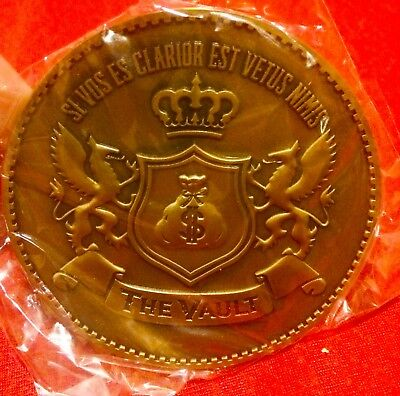 Gene Simmons Vault Coin KISS Frehley Criss Stanley Rock Band
