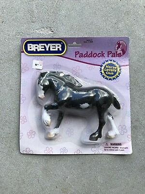 Breyer Horse Lovers Club Paddock Pal Clydesdale #1668 Spotted Drafter K-Mart New