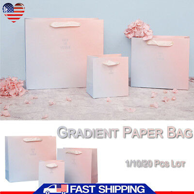 Lot OF 50 Gift Bag Store Bags Merchandise Bags Wrapper Party Wedding Supplies US