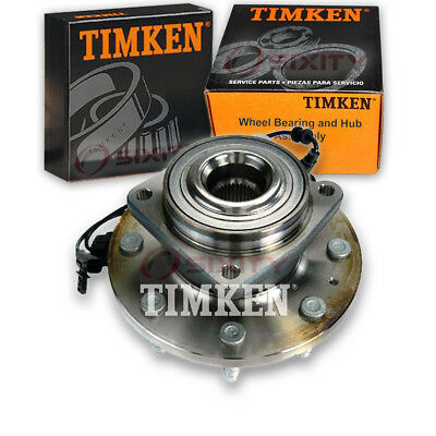 Timken Rear Wheel Bearing & Hub Assembly for 2013-2015 Subaru XV Crosstrek vz