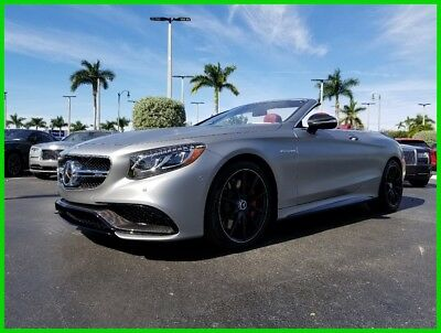 2017 Mercedes-Benz S-Class S 65 AMG® 2017 S 65 AMG Used Turbo 6L V12 36V Automatic RWD Convertible Premium