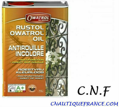 1 litre - Antirouille RUSTOL - Incolore - OWA733