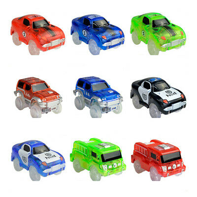 Electronic Special Car for Magic Track Toys With Flashing Lights Educational Hot