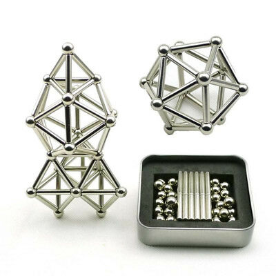 Creative Magnetic Sticks And Steel Spheres wavetrending NEW 40% Discount